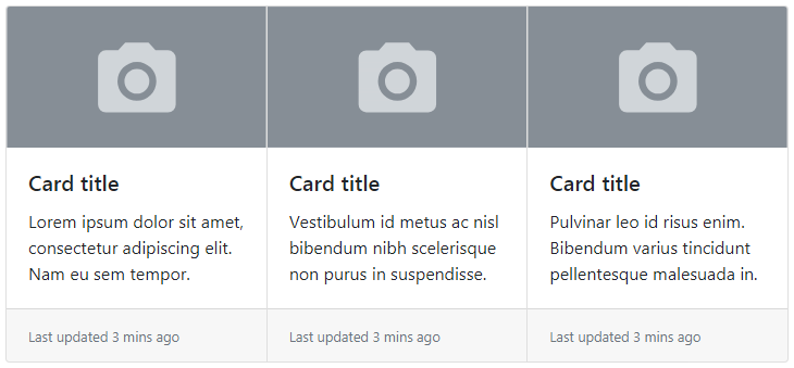Bootstrap Card Group
