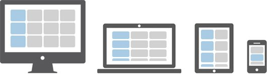 Bootstrap Grid System Illustration