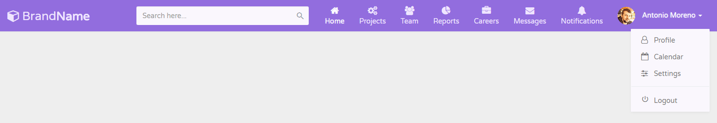 Bootstrap Navbar Examples (Live Demos & Codes) - Tutorial